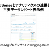 AdSenseとアナリティクスの連携方法と主要データレポート